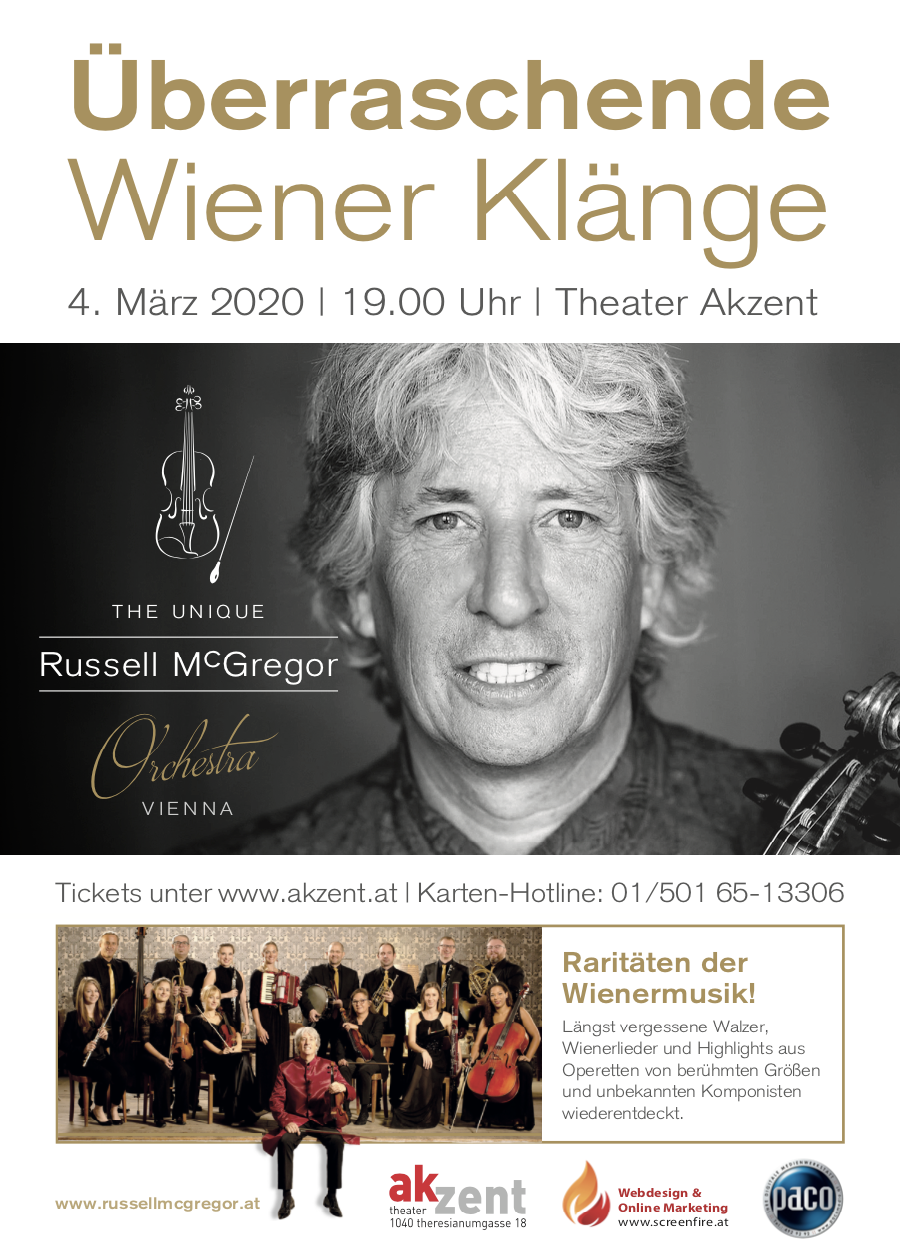 McGregor Orchestra at Theater Akzent Vienna